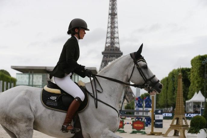 Uriko at Longines Global Champions Tour in Paris 2014