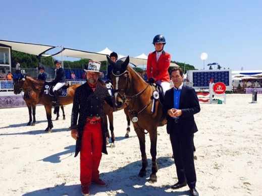 Diva Z at the Athina Onassis Horse Show in St Tropez 2015